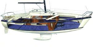 Skolebådene Ishøj sejlerskole MAXI77
